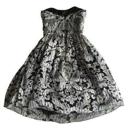 Anna Sui Printed silk dress