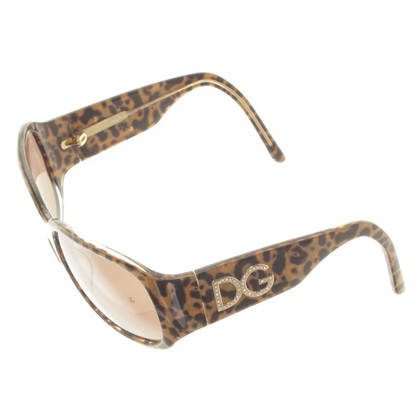 Dolce & Gabbana Sunglasses with Leopard pattern