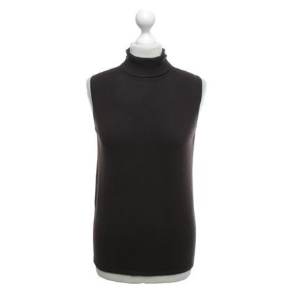 Donna Karan Sweater in dark brown