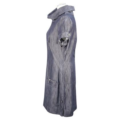 Karen Millen Denim dress in dark blue