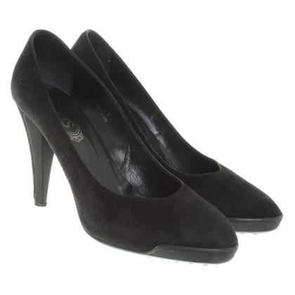 Tod's Wild leatherpumps in black