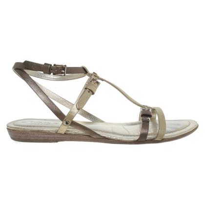 Tod's Metallic-look sandals