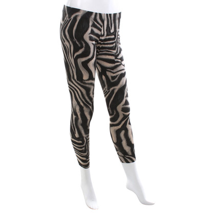 Marc Cain Leggings with zebra print