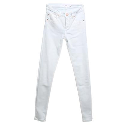 Victoria Beckham Skinny jeans in light blue