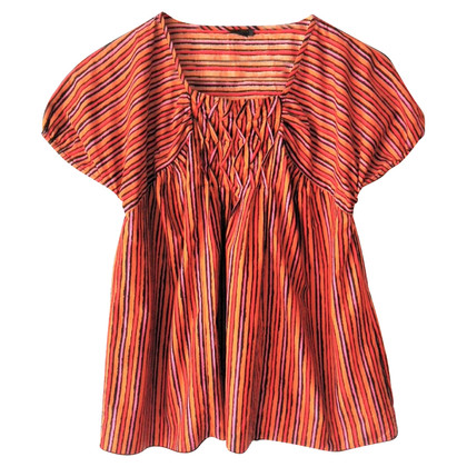Anna Sui Shirt with stripe pattern