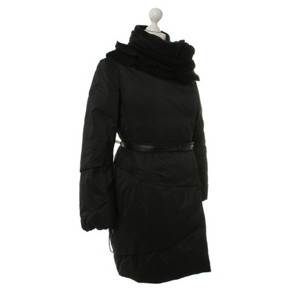 Ermanno Scervino Down jacket in black