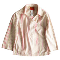 Burberry Striped wrap shirt