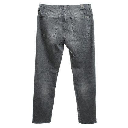 7 For All Mankind Skinny jeans in grijs