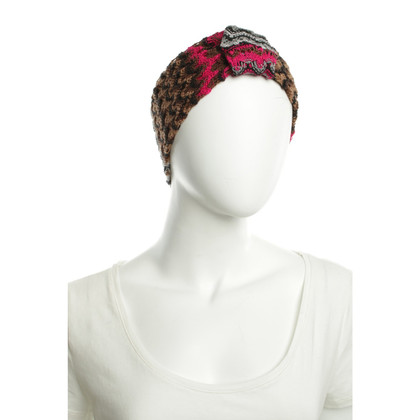 Missoni Headband with knitting patterns