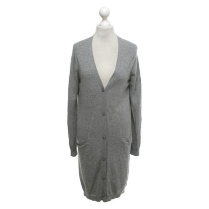 Twin-Set Simona Barbieri Vest in grijs gespikkeld