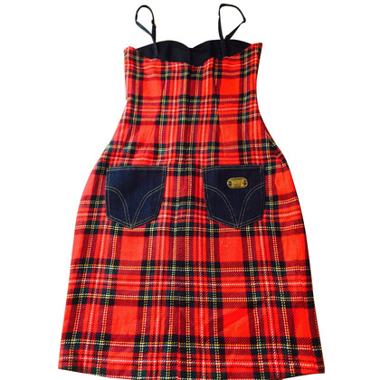 D&G Checked luxury dress