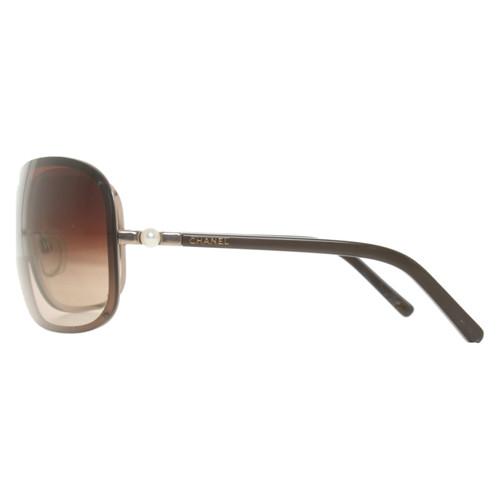 Chanel Lunettes de soleil en Marron - Acheter Chanel Lunettes de ... 6f6473bb8bda