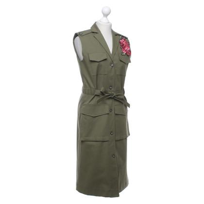 Set Dress in olive green