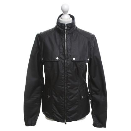 Belstaff giacca antipioggia in nero