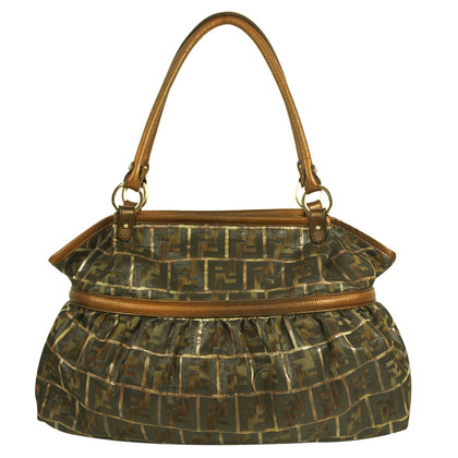 Fendi Shopper with Zucca patterns