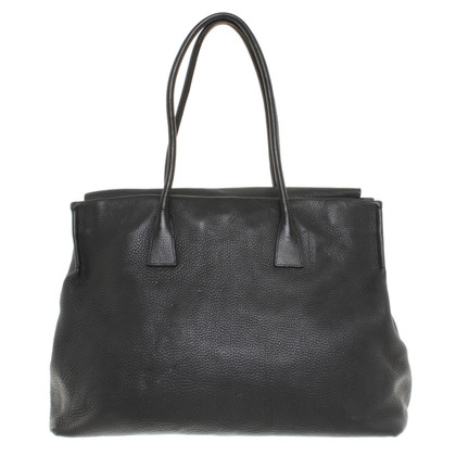 Jil Sander Shopper in Schwarz