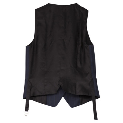 D&G Vest with pinstripe