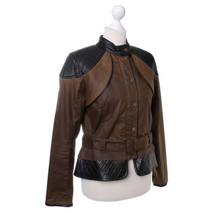 Barbour De biker stijl jas