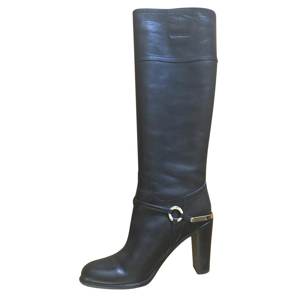 Christian Dior stivali di pelle