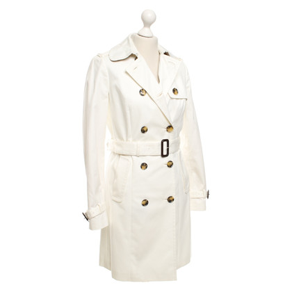 Tommy Hilfiger  Trenchcoat in roomwit