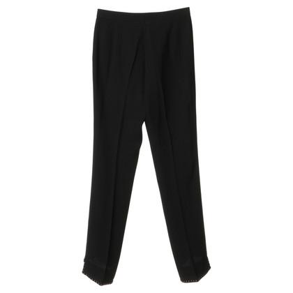 Blumarine Pants with decorative hem