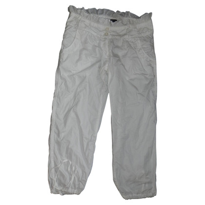 Armani Jeans trousers in white