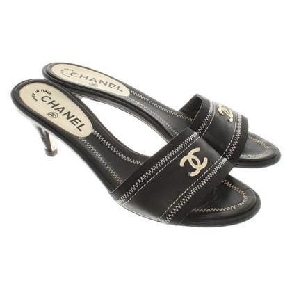 Chanel Sandali in pelle