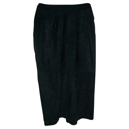 Marc Cain Blue Suede skirt