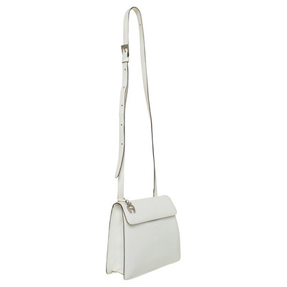 Aigner Leather shoulder bag white