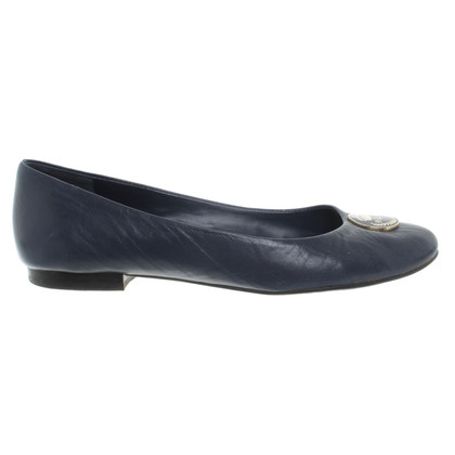 Ralph Lauren Ballerinas in dark blue