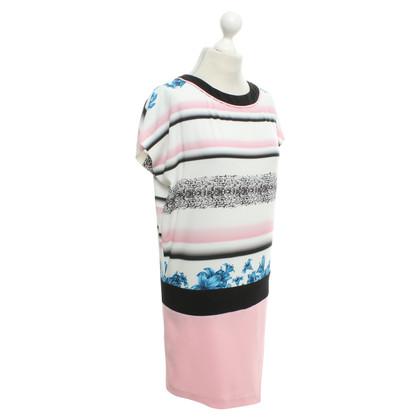 Pinko Sheath dress with pattern mix