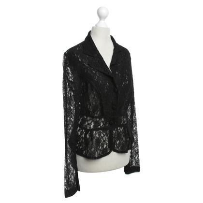 Roberto Cavalli Top blazer in black