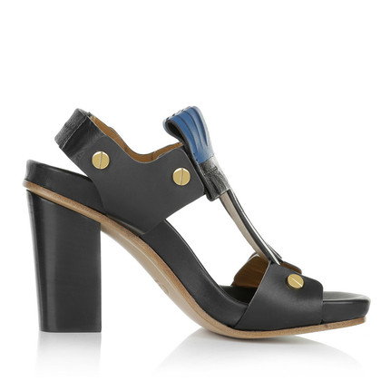 Chloé Sandaletten in Schwarz