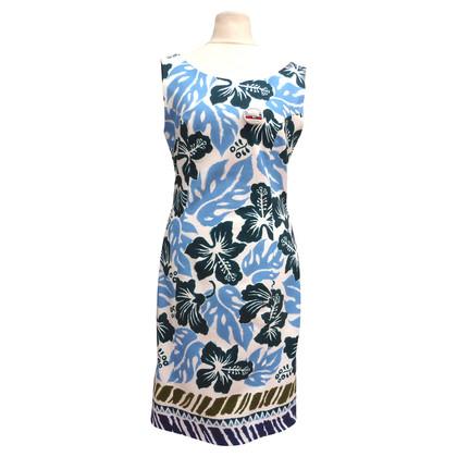 Prada Sommerkleid mit Blumenduck