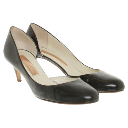 Rupert Sanderson pumps made of lacquered leather