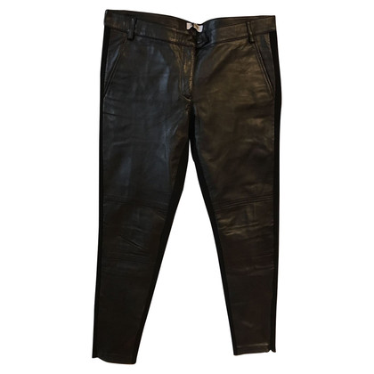 Moschino MOSCHINO LEATHER TROUSERS