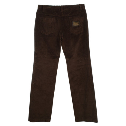 Dolce & Gabbana Cord-trousers in brown
