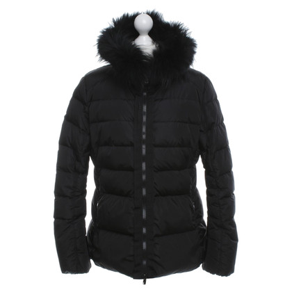 Marc Cain Jacket with real fur trim