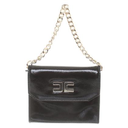 Elisabetta Franchi clutch in black