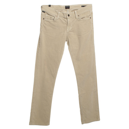 Citizens of Humanity Corduroy pants in Beige