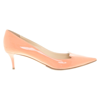 Jimmy Choo Salmon-colored pumps