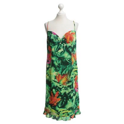 Escada Sommerkleid mit tropischem Print