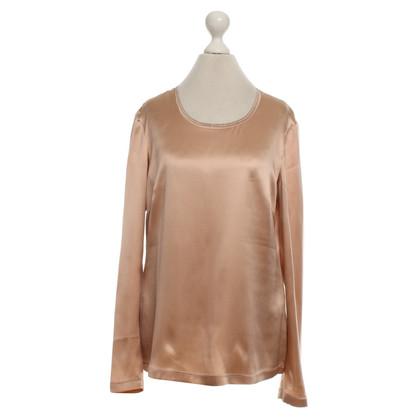 Fabiana Filippi Silk blouse in Nude