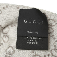 Gucci Wollschal mit Guccissima-Muster