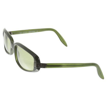 Gucci Occhiali da sole in verde