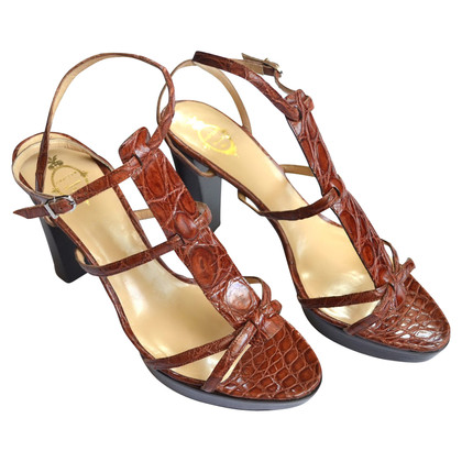 Unützer Leather sandals in brown