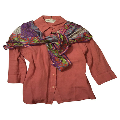 Max & Co Blouse and silk scarf