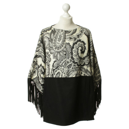 Just Cavalli zwart-wit patroon Cape