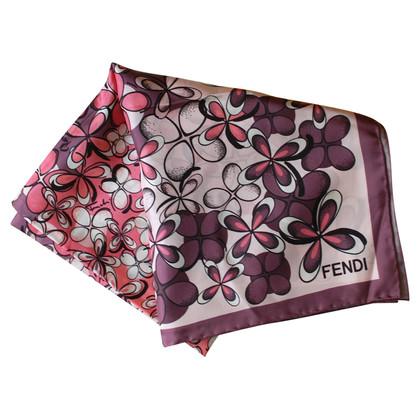 Fendi Fendi Floral Seta foulard