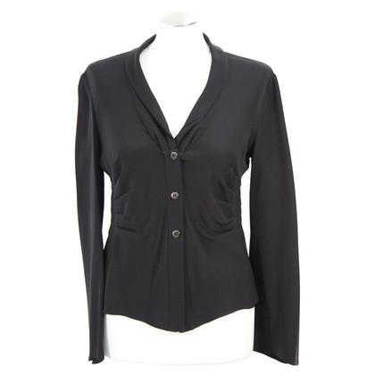 Armani Collezioni blouse zwart